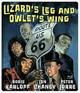 Route 66: Lizard's Leg and Owlet's Wing Blu-Ray 1962 Robert Gist Halloween show