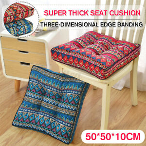🇦🇺 Seat Cushions Square Soft Chair Pad Mat Dining Garden Patio Decor   m