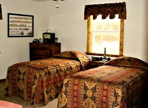 Custom One of a Kind Jacquard Twin XL Bedspreads with Matching Valences  - EXC
