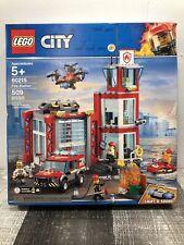 LEGO City 60215 Fire Station NEW *Damaged Box* + Free Shipping