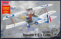 Roden 051 - 1/72 - Sopwith Comic British fighter-biplane aircraft WWI model kit