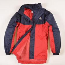 ff7aa77b60c2 Adidas Junge Kinder Jacke Jacket Windjacke Gr.164 Mehrfarbig, 33087