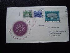 HONGRIE - enveloppe 1966 (B1) hungary