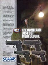 2005 TAURUS PT24/7 Pro Pistol AD Collectible Handgun ADVERTISING