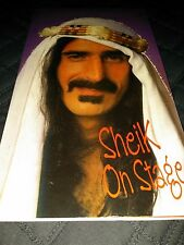 Sheik On Stage Frank Zappa (2) CD Frank Zappa Import 1980 Pittsburgh Box Set Liv