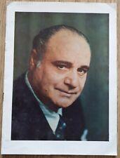 Vintage 1954 BENIAMINO GIGLI British Isles Concert Tour Programme, Ephemera