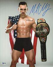 Michael Chandler Signed 11x14 Photo BAS Beckett COA Bellator MMA Belt Picture 1
