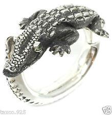 Ignacio Gomez Taxco Mexican 950 Sterling Silver Crocodile Bracelet Mexico
