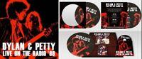 DYLAN & PETTY - LIVE ON THE RADIO (LIM.PICTURE-LP+CD)   CD+LP NEU