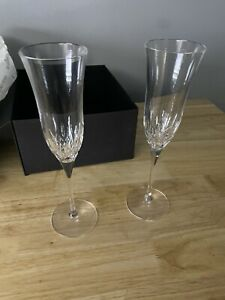Waterford Luxury Crystal Wedding Toasting Flute Set of 2