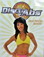 DISCO ABS,Get Funky Cardio NEW! DVD Workout to Original Songs ,Dance away Pounds