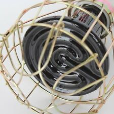 Vintage Metal Iron Wire Bulb Cage Lamp Guard Shade For Industrial Light Decor
