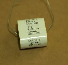 SP1213TF-X EFC Metallized Polypropylene Capacitor AXIAL 1.5uF 500VAC 1213T WESCO
