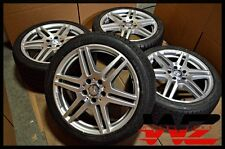 "18"" Mercedes-Benz E Class AMG Staggered Wheels Tires OEM A2124012302 A2124012402"