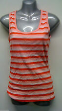 George Striped Scoop Neck Sleeveless Tops & Shirts for Women