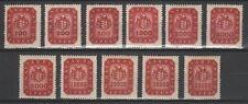 Hungary 1946. Milpengo wonderful set MNH (**) Michel: 905-915