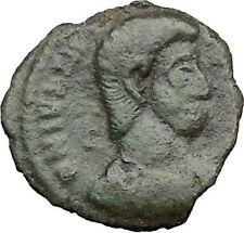 JULIAN II as Caesar in military dress  w Globe 355AD Ancient Roman Coin i32840