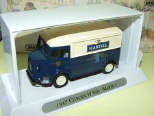 CITROEN TYPE H VAN 1947 MARTELL ALCOOL MATCHBOX YTF2 Publicitaire cognac