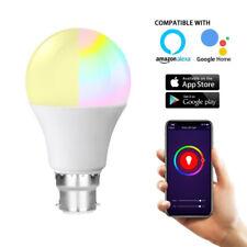 B22 Smart Bulb Wireless WiFi Remote Control Light for Alexa Google Home 11W