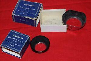 2 Stück Voigtländer Gegenlichtblende 310/32 + 310/47 Lens Hood