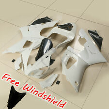 Set Injection Fairing Kit BodyWork for YAMAHA YZF R1 2000-2001 00 01 Unpainted