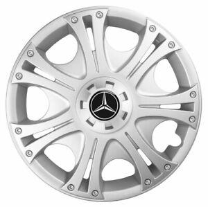 15'' Wheel trims for Mercedes Citan Viano Vito A Class black 4x15''