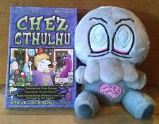 RARE Cthulhu Zombie Plush & Chez Cthulhu Card Game - Steve Jackson - Munchkin
