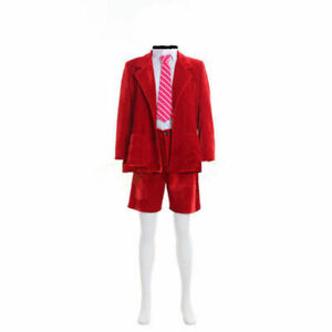 NEW School Boy Angus Young AC DC School Boy Uniform Cosplay Costume