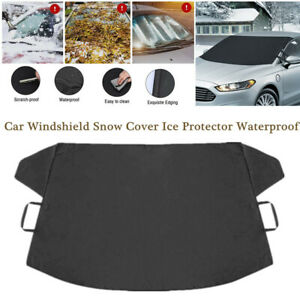 Car Windshield Protector Windscreen Auto Cover Frost Snow Ice Shield Front Trims