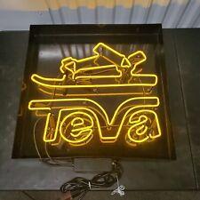 Teva Sandal Neon Sign Store Display Light Up Advertisement 90's