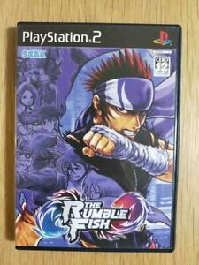PS2 The Rumble Fish SEGA Playstation 2 Japan import Fighting Game