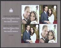 GR BRITAIN 2011 MS3180 The Royal Wedding, Mini-Sheet, S/S Mint NH