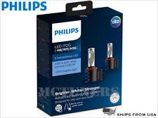 New Release PHILIPS X-treme Ultinon 6500K H8 H11 LED Fog lamps set 12794UNIX2