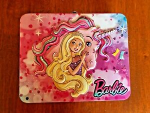 Barbie Tin Lunchbox With Jigsaw Puzzle 2017