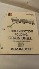 Krause Owners Manual For 8300 Series Flew Wing Disc Harrow