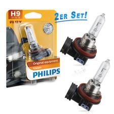 Philips H9 12v 65w pgj19-5 visión original Equipamiento juego de 2 12361b1