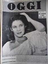 OGGI n°3 1953 Miriam Bru - L' Album di Giuseppe Garibaldi  [C78]