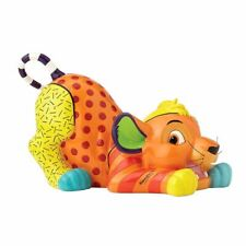 Disney Britto The Lion King Simba Colourful Collectable Figurine - Boxed