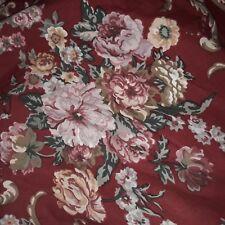 Ralph Lauren Danielle Marseilles Full Queen Duvet Cover Country Red Roses Floral