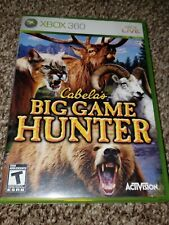 Cabelas Big Game Hunter - Xbox 360