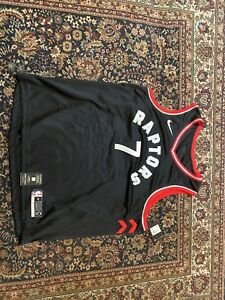 100% Authentic Lowry Toronto Raptors 2020 Nike Statement Swingman Jersey 3XL