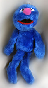 "Muppets Sesame Street Grover By Applause Plush Doll 13"" 33 cm"