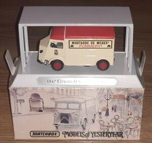 Matchbox 1947 CITROEN H Van 'Pommery' YTF6 Models of Yesteryear - Boxed