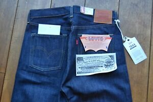 LEVIS LVC 1944 S501XX Jeans Made in USA Cone Denim Shrink-to-Fit BNWT Rigid