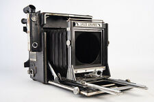 Graflex Speed Graphic 4x5 Large Format Press Camera Body WORKS PLEASE READ V16