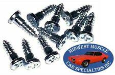 Ford Mercury Window Trim Clip Molding Spot Weld Pin Stud Screw In Studs 10pcs
