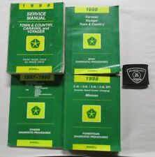 1998 DODGE CHRYSLER TOWN & COUNTRY / CARAVAN / VOYAGER SERVICE SHOP MANUAL SET