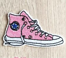Shoe Embroidered Iron On Patch, shoe sewing patch