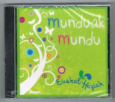 MUNDUAK MUNDU - EUSKAL HAZIAK - 17 TRACKS - 2008 - NEUF NEW NEU