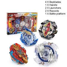 Metal Beyblade Burst Arena Set Gyro Fighting Gyroscope Launcher Spinning Kid Toy